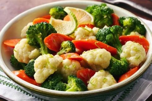 βραστά λαχανικά