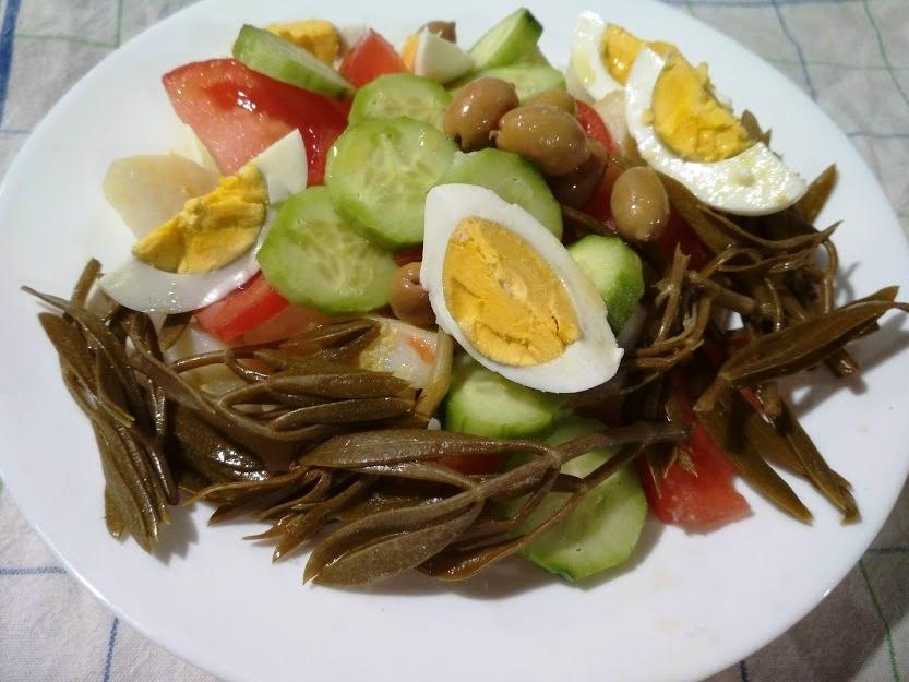 σαλάτα με κρίταμο